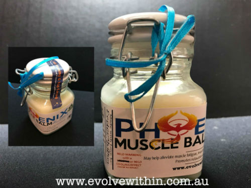 Cool Muscle balm hand made in australia