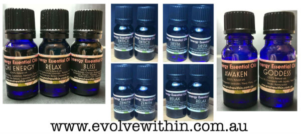 Evolve Within 100% essential oils